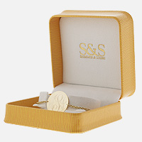 Monogram bracelet packaging