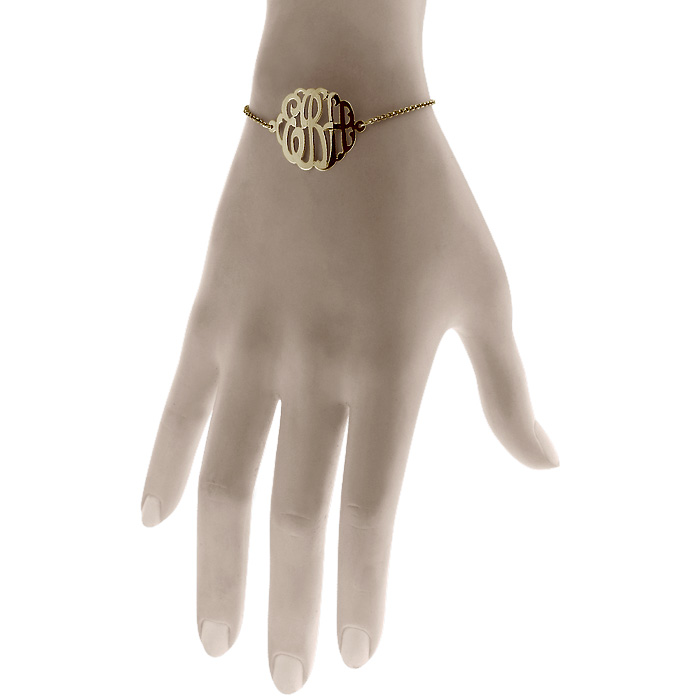 Monogram Bracelet Fit View