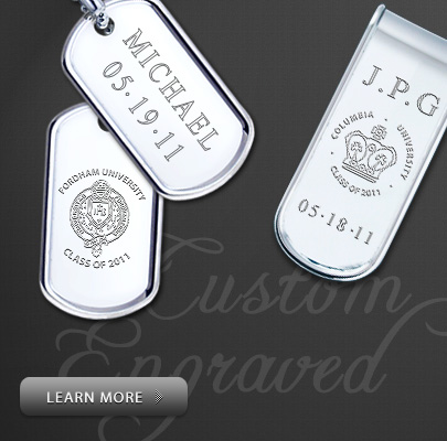 Custom Engraved Mens Graduation Gifts