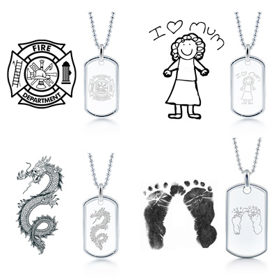 Custom Engraved Jewelry Ideas