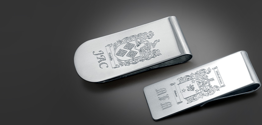 Custom Engraved Money Clips