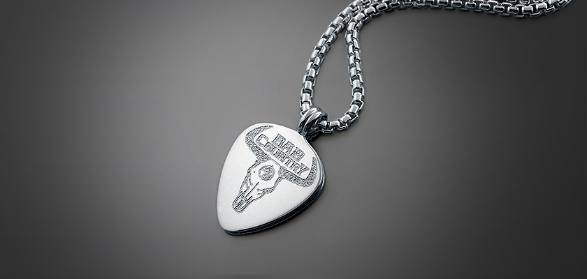 Custom Engraved Mens Necklaces
