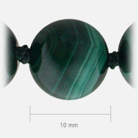 Malachite Bead Size