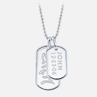 Dog Tag Custom Engraving