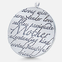 Mother Pendant Inscription