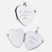 Locket Engraving