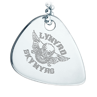 Guitar Pick Necklace Custom Engraving