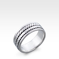 Men's Sterling Silver Kali Ring