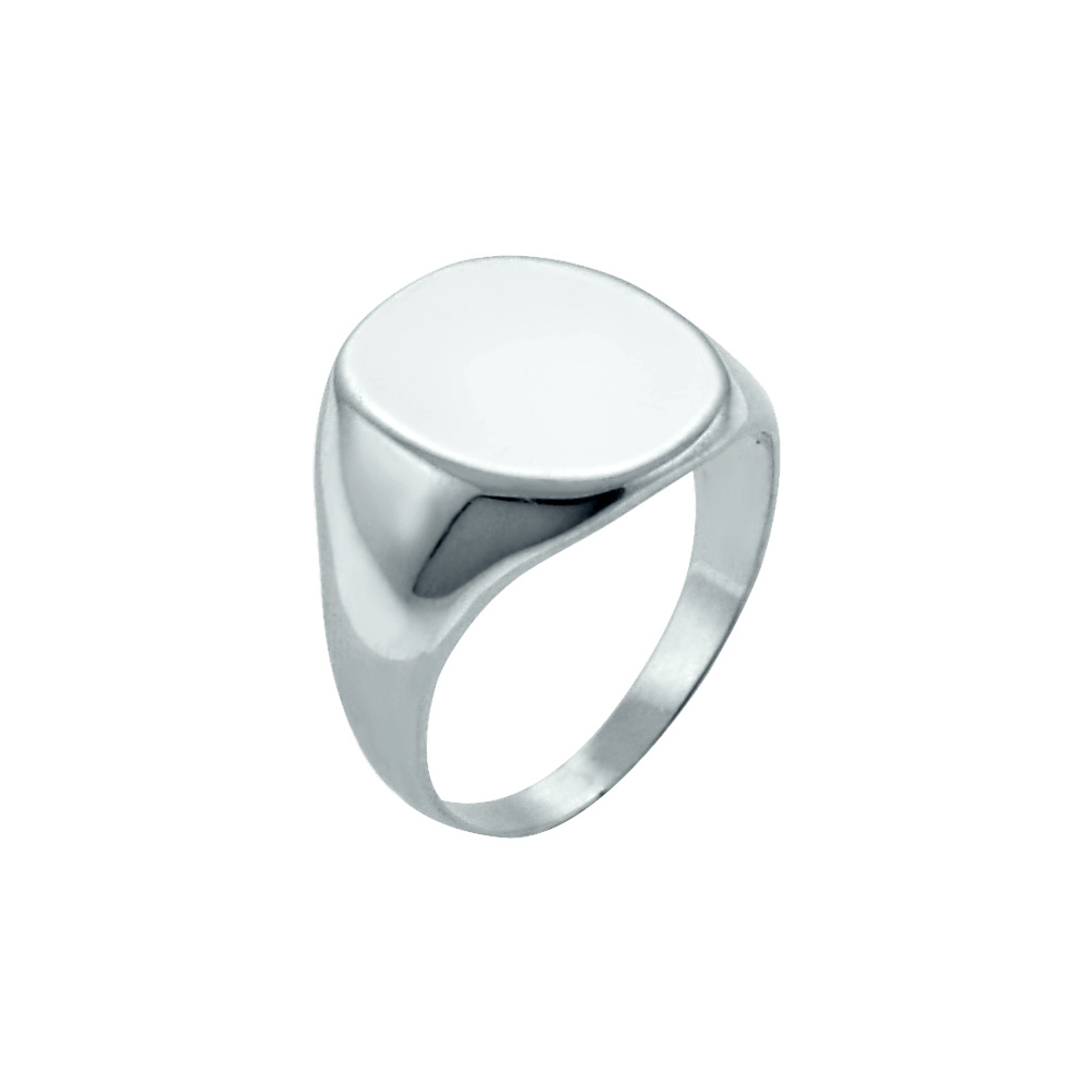 Monogram signet Ring Zoom View