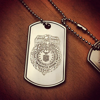 Men's Dog Tag Necklaces