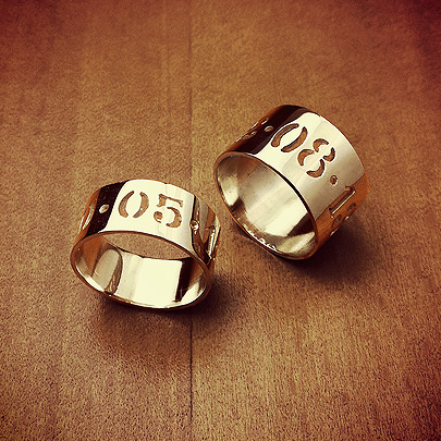 Cut Out Date Rings