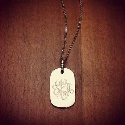 Women's Dog Tag Necklaces