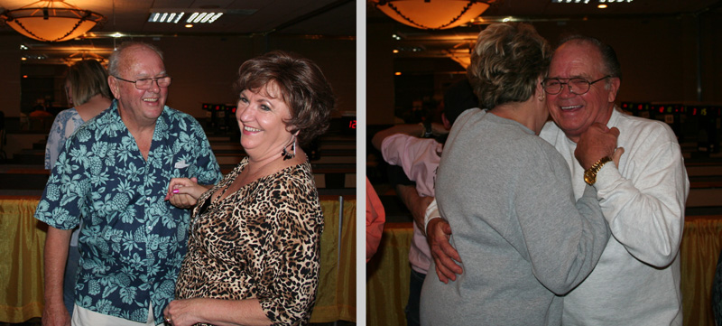James Moran, Linda Anthony, Darlyne Belcher, & Harvey Comer - On the dance floor at the 2009 NASC Anniversary Party