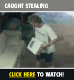 Caught Stealing On Tape- Click Here!