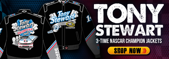 Tony Stewart 3-Time Nascar Champion Jackets