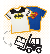 Superman and Batman Shirts