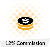 12% Commision