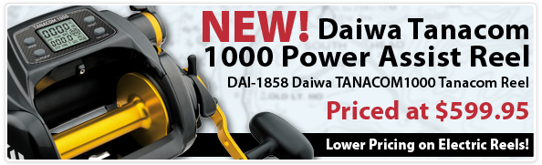 Daiwa Tanacom 10000 Power Assist Reel