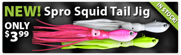 Spro Squidtail Jig 3/4oz