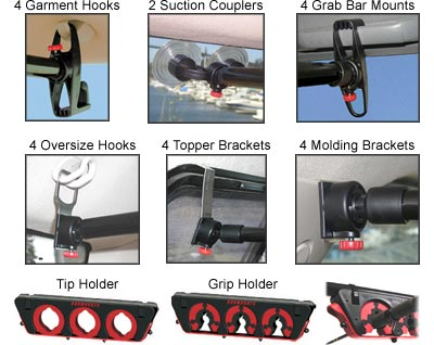RodMounts RodLoft PRO� mounting options