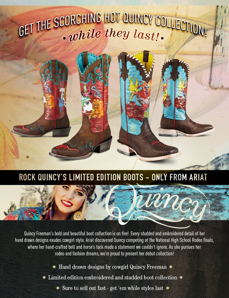 Ariat Quincy Collection Boots