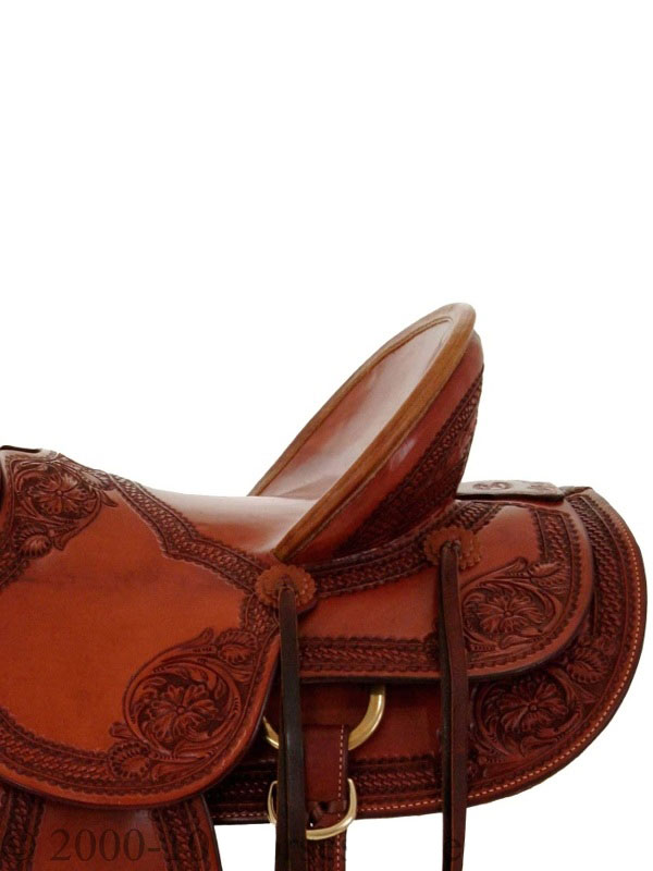 Side View, Billy Cook Saddle