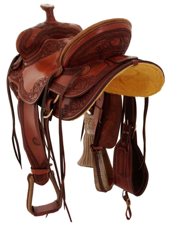 Back View, Billy Cook Saddle