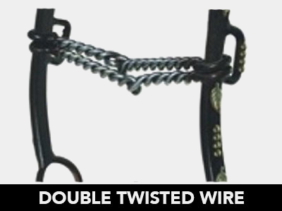 Double Twisted Wire Bit Mouthpiece