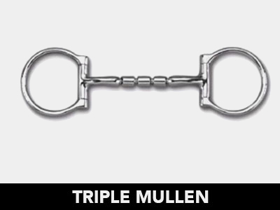 Triple Mullen Bit Mouthpiece