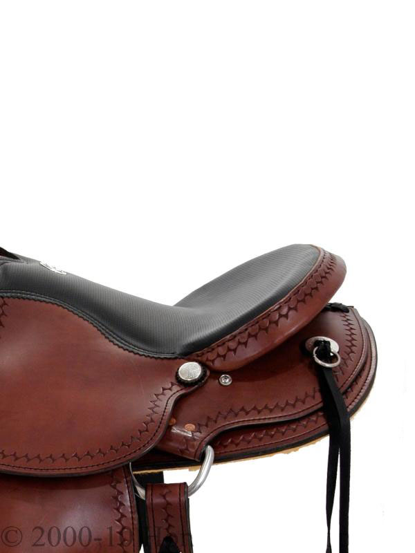 Side View, Dakota 211 Gaited Trail Saddle