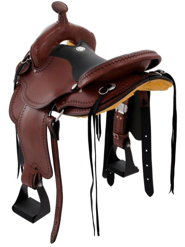 Back View, Dakota 211 Gaited Trail Saddle