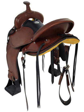 Back View, Dakota Trail Saddle 213