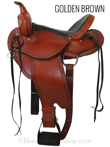 Front View, Dakota Trail Saddle 213