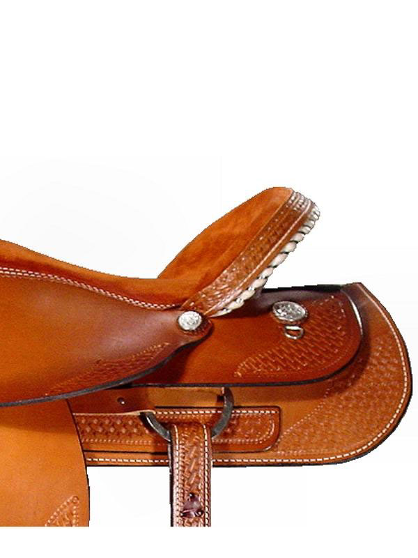 Side Detail View, Dakota Trail Saddle 350gb