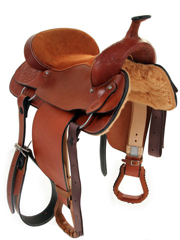 Front View, Dakota Pleasure Saddle 900j