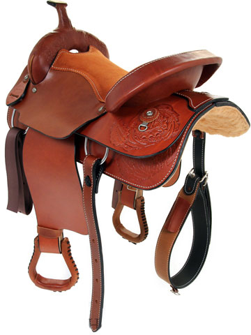 Back View, Dakota Pleasure Saddle 900j