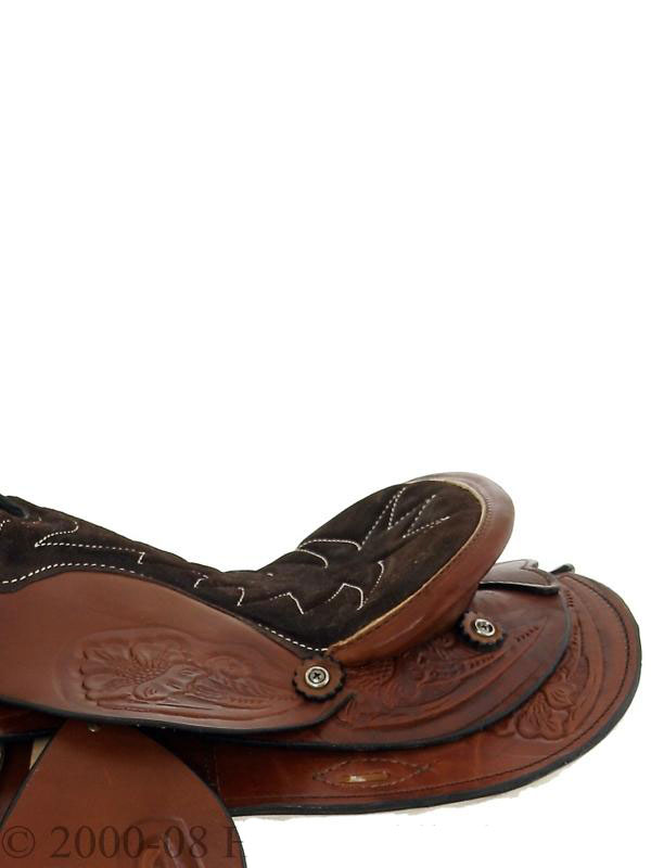 Side Detail View, Dakota Pony Saddle 950