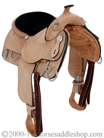 Rocking R Training Saddle