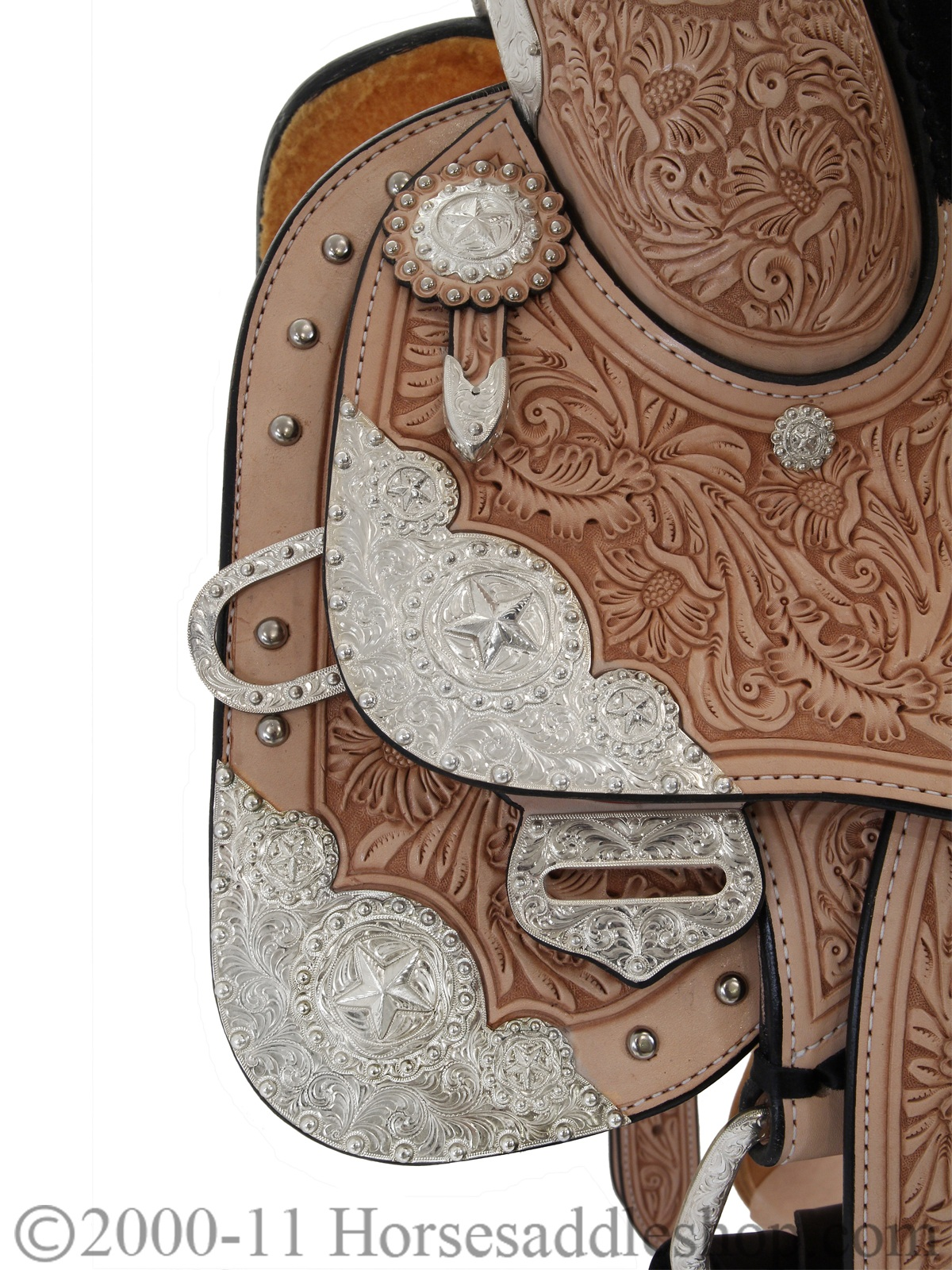Silver Mesa Elite Show Saddle