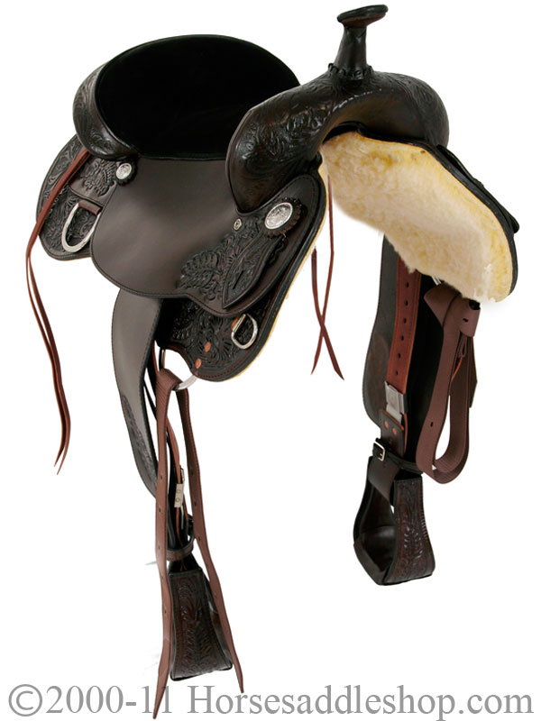 Tex Tan Trail Saddle