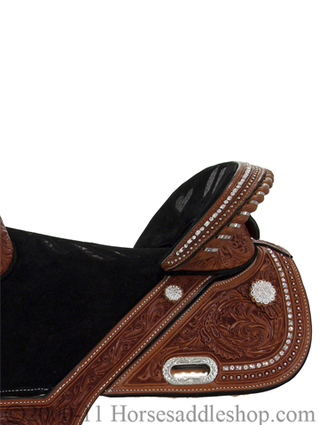 Used Barrel Racing Saddle