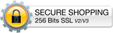 256 Bit SSL Secure Shopping