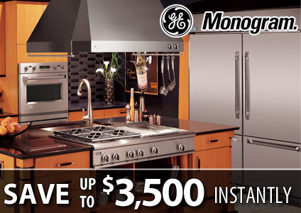GE Monogram Rebate