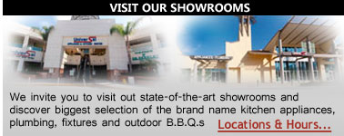Visit Universal Appliance and Kitchen Center Showroom in Studio City, CA