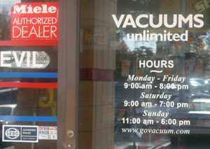 Vacuum Repair Centers in Herndon, Virginia