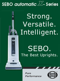 SEBO Vacuums - Best Uprights