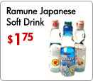 Ramune Japanese Soft Drink