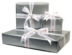 Gift wrap service for $5.50