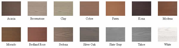 AZEK® Deck Board Colors