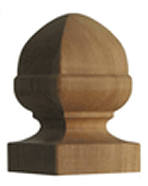 Small French Acorn Cedar Finial